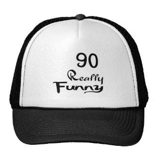 90 Really Funny Birthday Designs Trucker Hat
