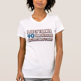 90  year old birthday designs T-Shirt
