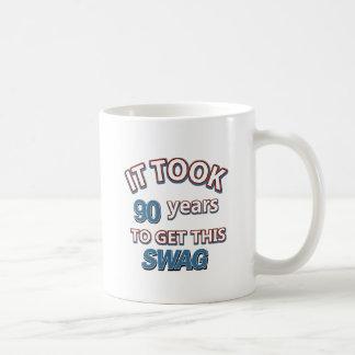 90 year old designs coffee mug