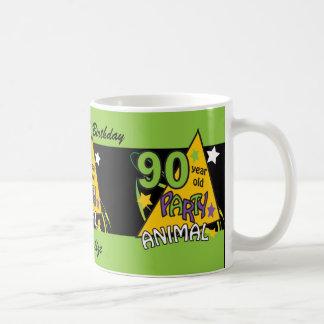 90 Year Old Party Animal | 90th Birthday Classic White Coffee Mug