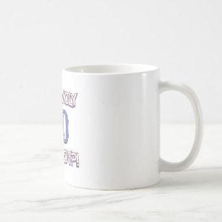90 years design coffee mug