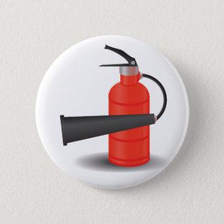 90Fire Extinguisher_rasterized 2 Inch Round Button