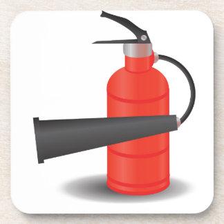 90Fire Extinguisher_rasterized Coaster