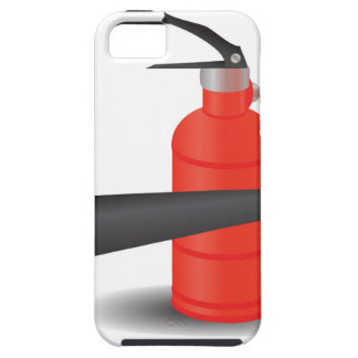 90Fire Extinguisher_rasterized iPhone 5 Case