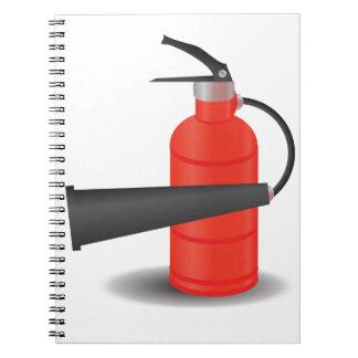 90Fire Extinguisher_rasterized Notebooks