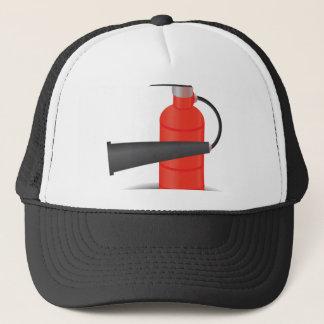 90Fire Extinguisher_rasterized Trucker Hat