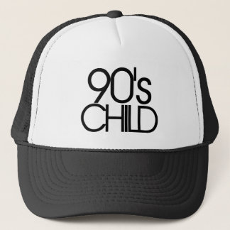 90s child trucker hat
