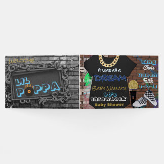 90'S Hip Hop BOY Baby Shower Guestbook