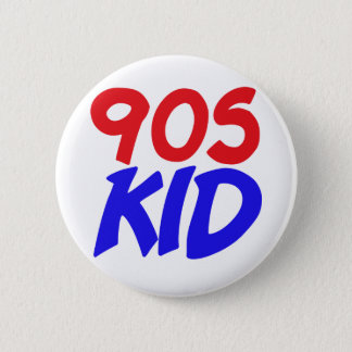 90s Kid 2 Inch Round Button