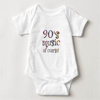 90s Music of Course Baby Bodysuit