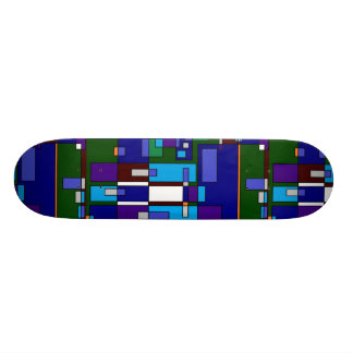 90s Paint Designs Skateboard Deck