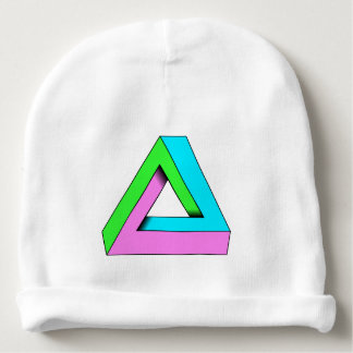 90s pop art design baby beanie