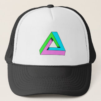 90s pop art design trucker hat