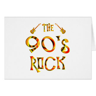90's Rock Greeting Cards