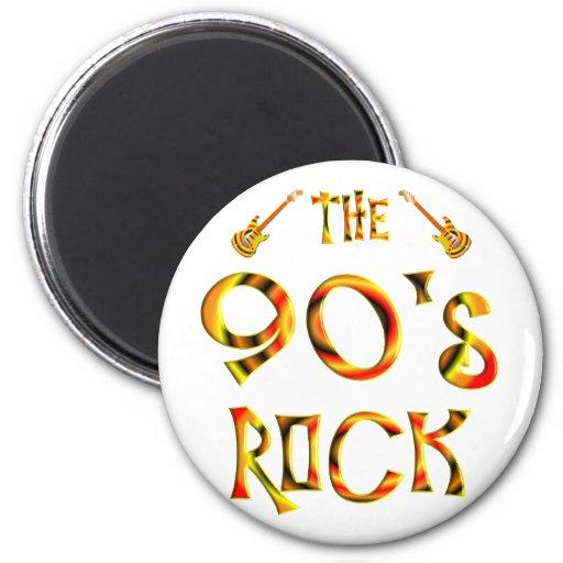 90's Rock Fridge Magnet