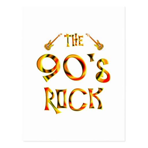 90's Rock Post Card