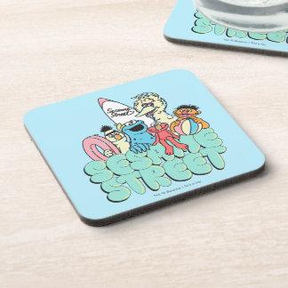 90's Sesame Street Vintage Surf Drink Coaster