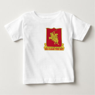 90th Anti Aircraft Artillery Military Patch Baby T-Shirt