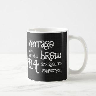 90th Birthday 1924 Vintage Brew or Any Year V90A Coffee Mug