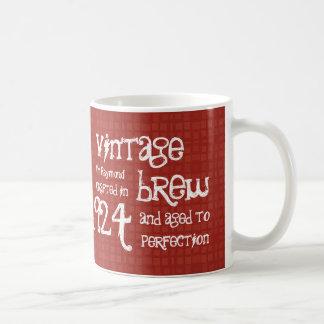 90th Birthday 1924 Vintage Brew or Any Year V90B Coffee Mug