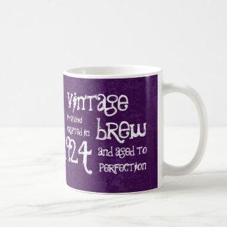 90th Birthday 1924 Vintage Brew or Any Year V90C Mug