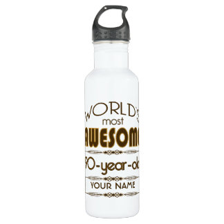 90th Birthday Celebration World Best Fabulous 710 Ml Water Bottle