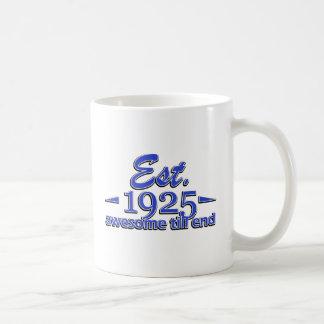 90th birthday designs coffee mug