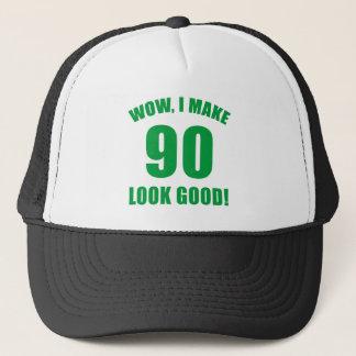90th Birthday Gag Gift Trucker Hat