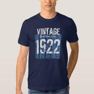 90th Birthday Gift Best 1922 Vintage V02 Tee Shirts
