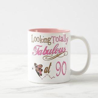 90th Birthday Mugs