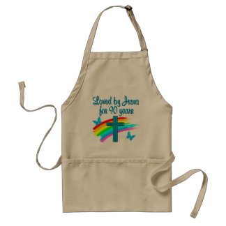 90TH BIRTHDAY PRAYER STANDARD APRON