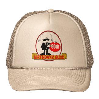 90th Birthday Sucks Gifts Trucker Hat