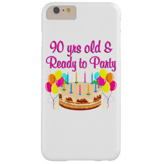 90TH PARTY GIRL BARELY THERE iPhone 6 PLUS CASE
