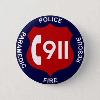 911 Button Police Fire Ambulance
