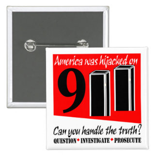 911 Conspiracy Buttons