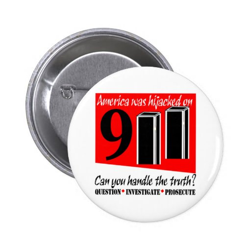 911 Conspiracy Buttons