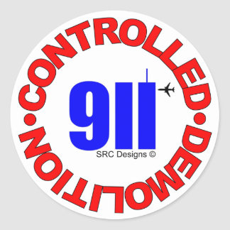 911 CONSPIRACY STICKER