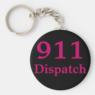 911 Dispatch Center Keychain