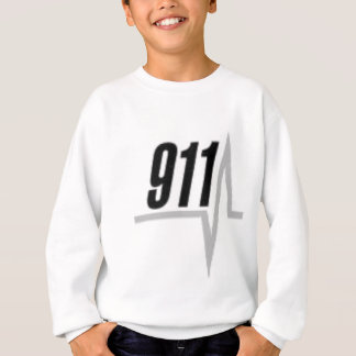 911 EKG strip Sweatshirt
