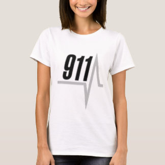 911 EKG strip T-Shirt