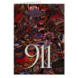911 gifts and greetings card