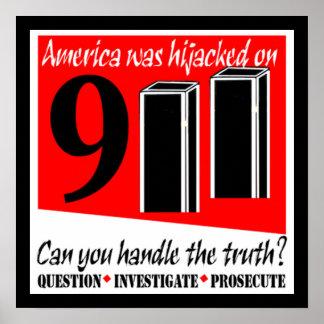 911 Hijack Poster