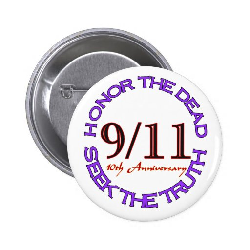 911 Honor the Dead Buttons