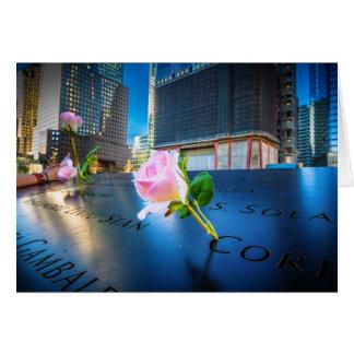 911 Memorial NYC Card