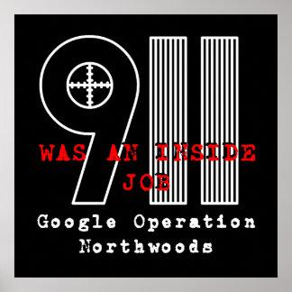 911 Northwoods Poster