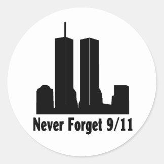 911 Remember sticker