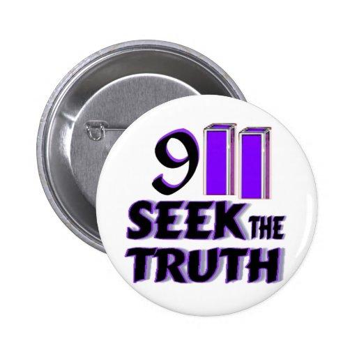 911 Seek the Truth Button