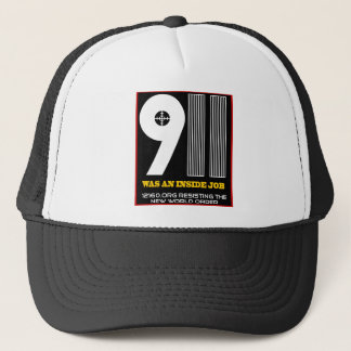 911 solid trucker hat