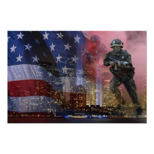911 Twin Towers Poster