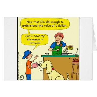 915 bitcoin allowance cartoon card